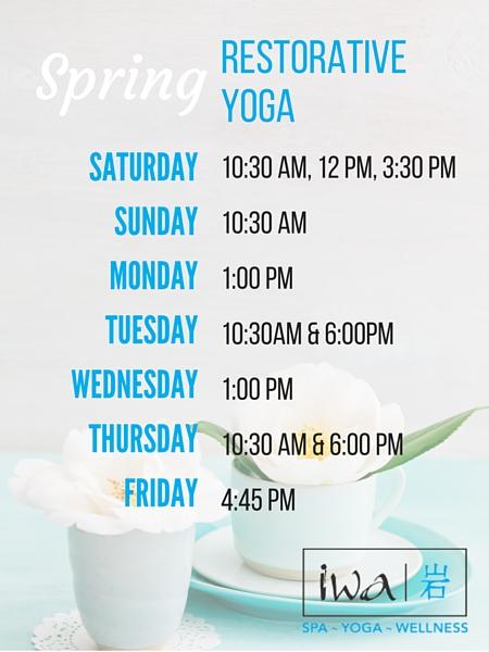 Spring Yoga Blue Mountain