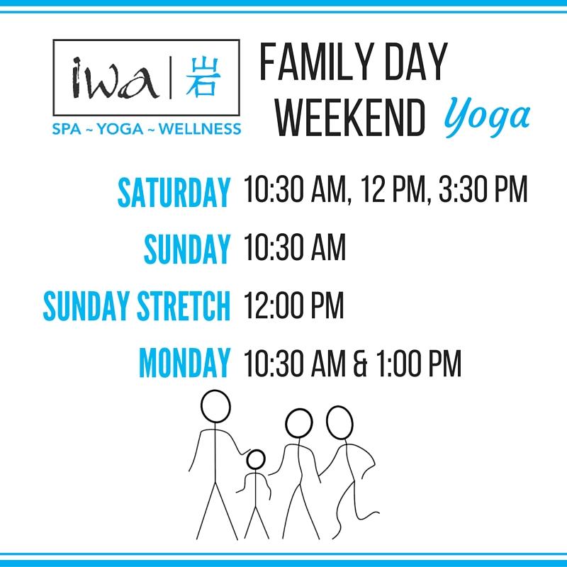 Family Day Yoga