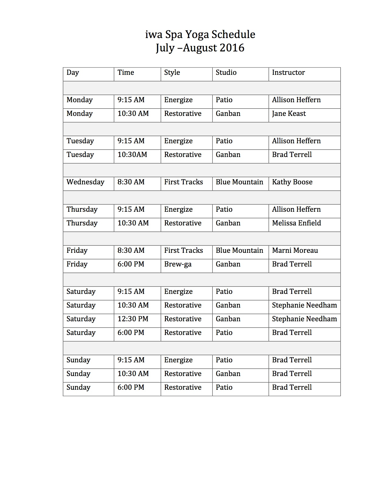 Yoga Schedule 16 copy